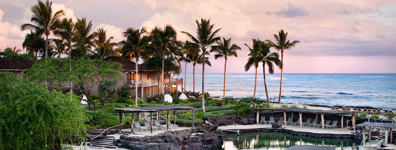 フォーシーズンズ リゾート フアラライ(Four Seasons Resort Hualalai) 景色