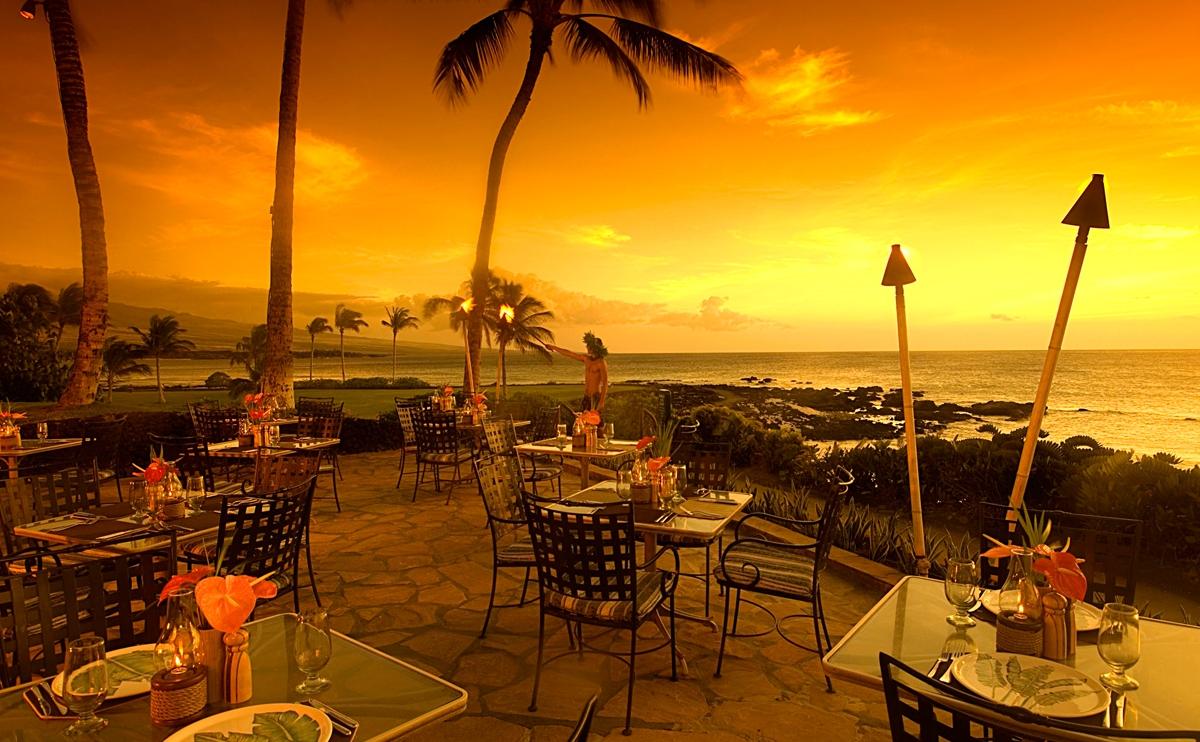 ハワイ ヒルトンワイコロアビレッジ レストラン