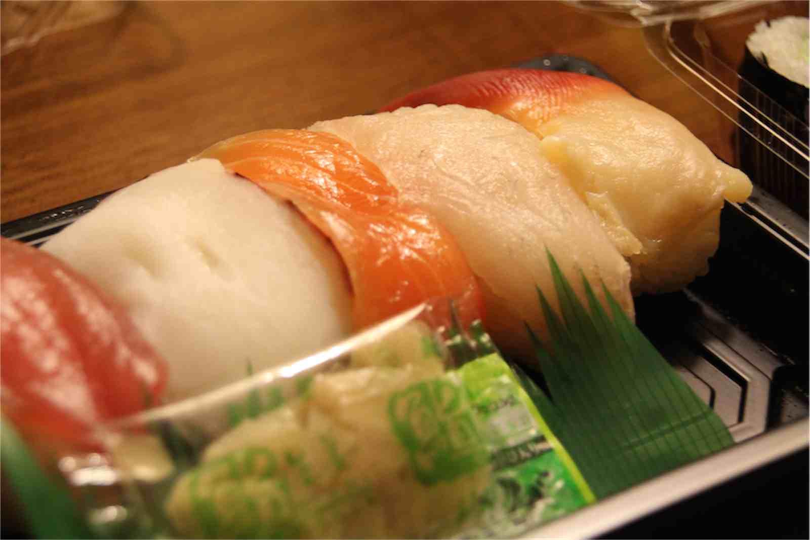 屋台村の寿司