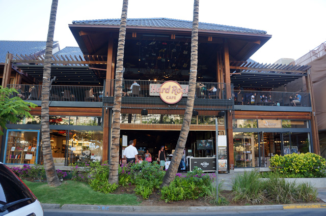 ハードロックカフェ、外観
