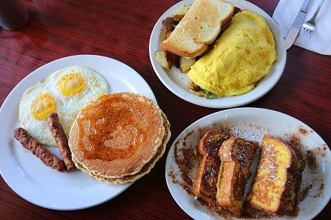 ハレイワ朝食メニュー