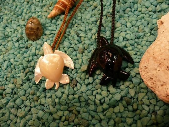 ウミガメ(ホヌ)ネックレス
