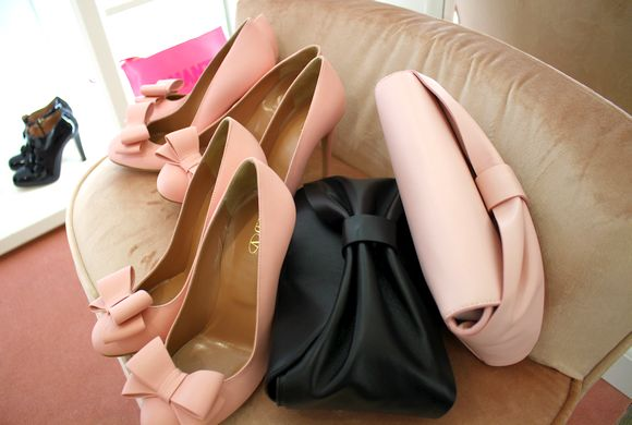 レッドヴァレンティノの靴