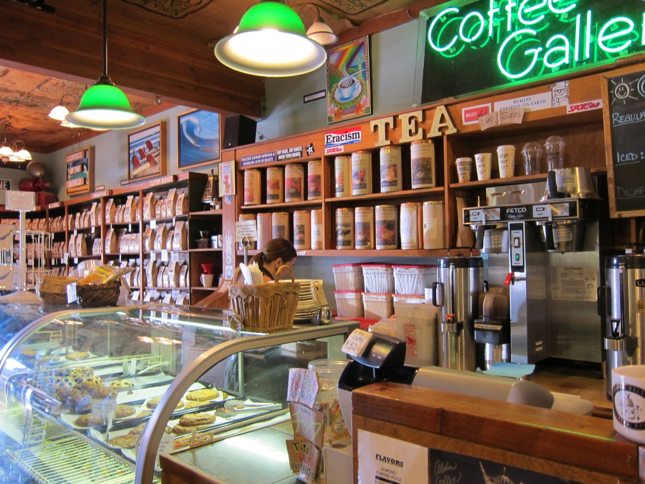 コーヒーギャラリー店内