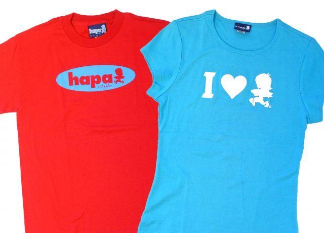 ハパ・スタイルのTシャツ