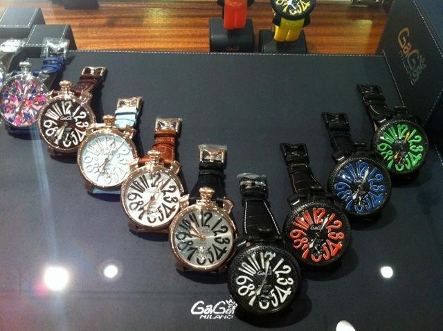 ガガ・ミラノの時計