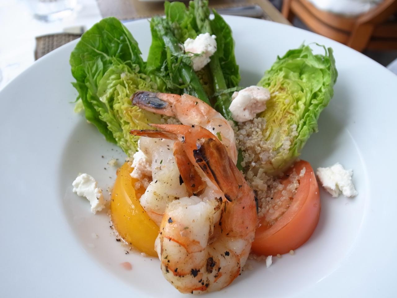 マリポサの料理