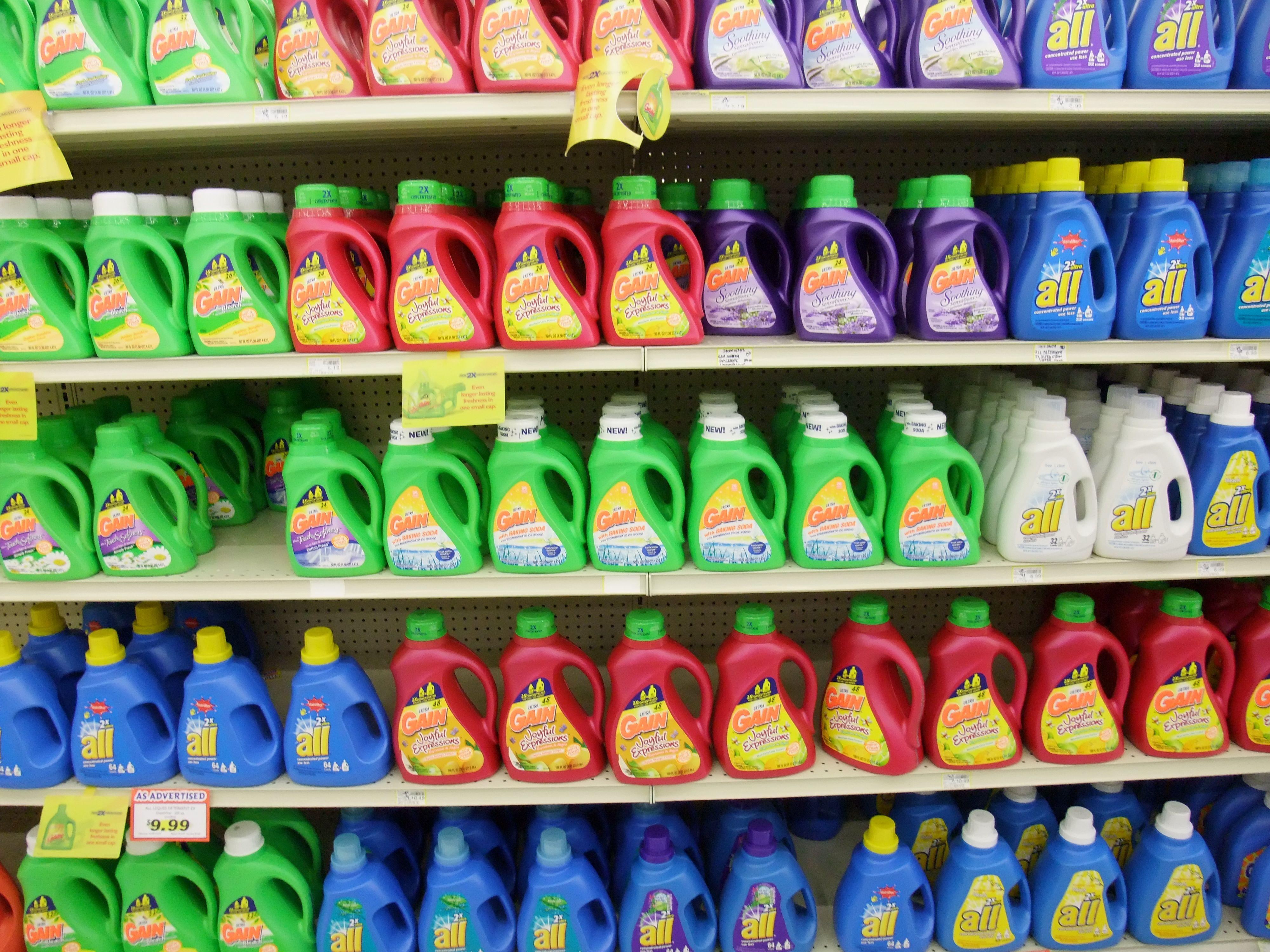 ハワイの洗剤