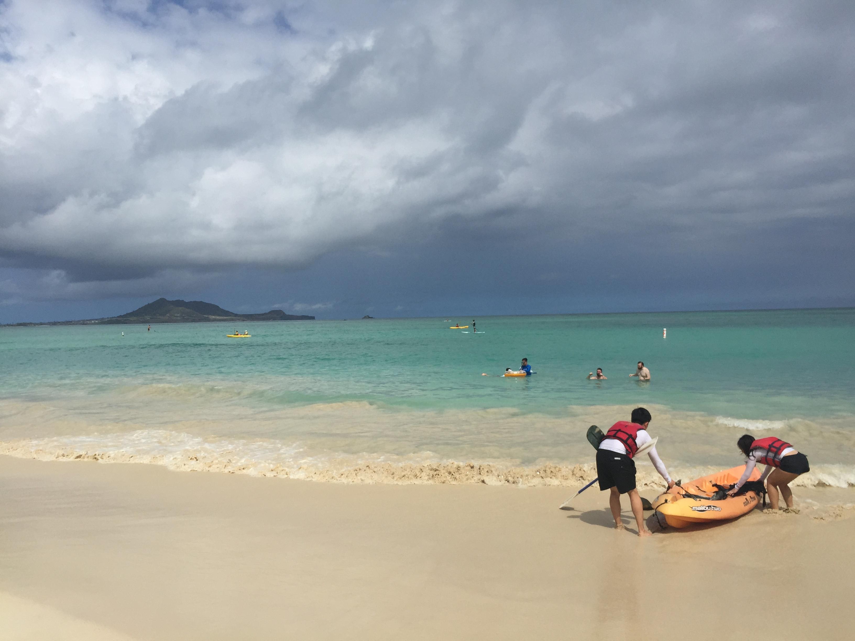 ハワイ カイルア カイルアビーチ