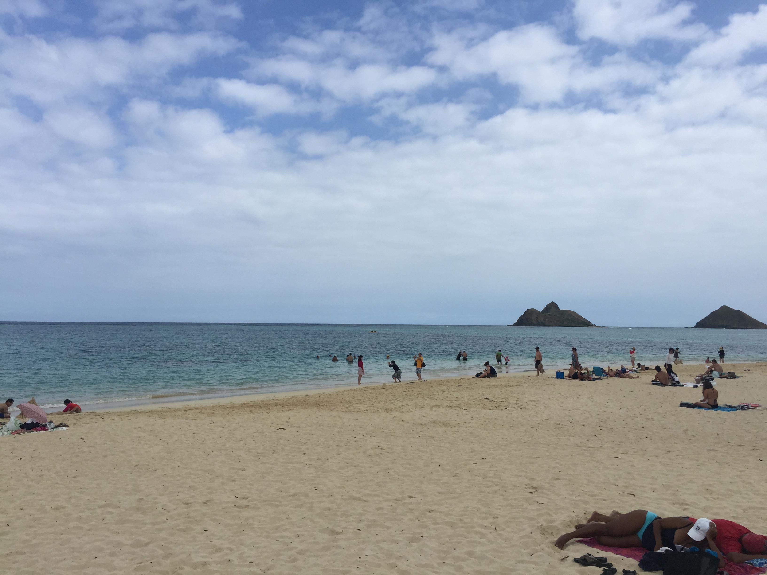 ハワイ カイルア ラニカイビーチ2