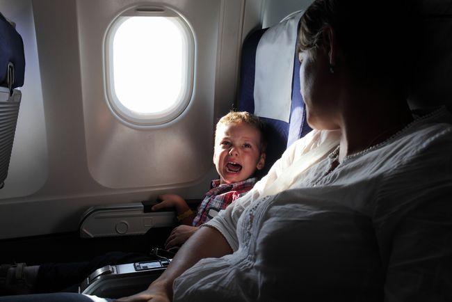 お子さんの飛行機