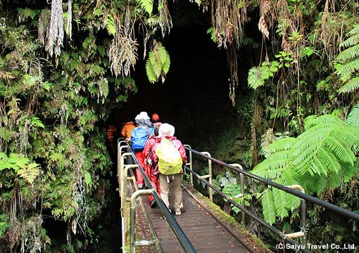 サーストン溶岩のトンネル