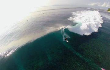 メンタワイ島の波
