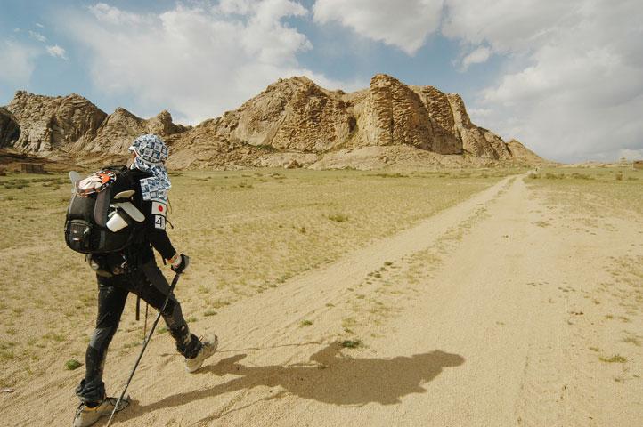 ゴビ砂漠マラソン