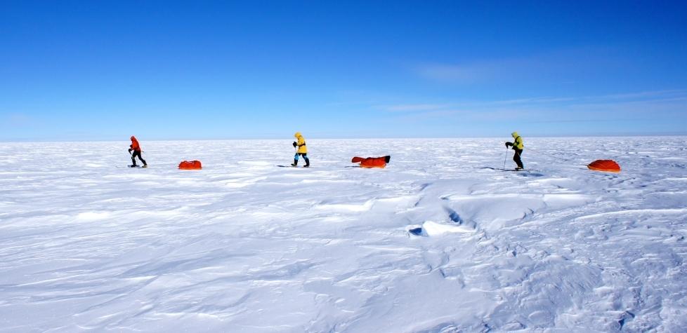南極の方が寒い