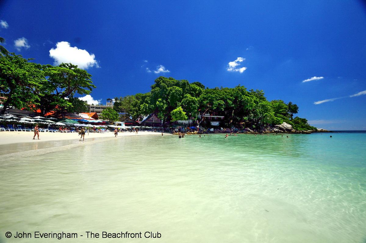 カタビーチの砂浜