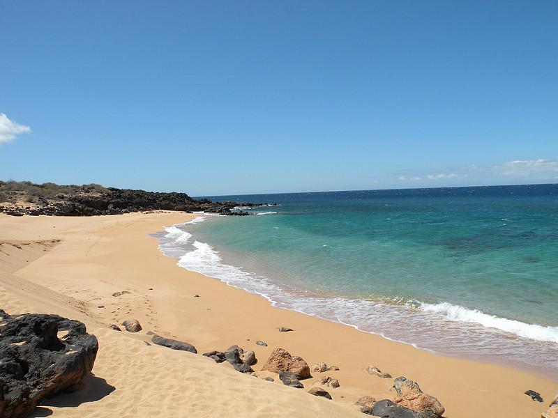 ラナイのビーチ