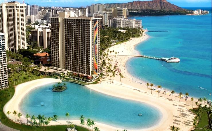 ハワイ ヒルトンハワイアン ビーチ