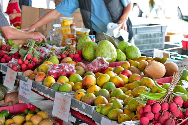 ハワイ産の果物