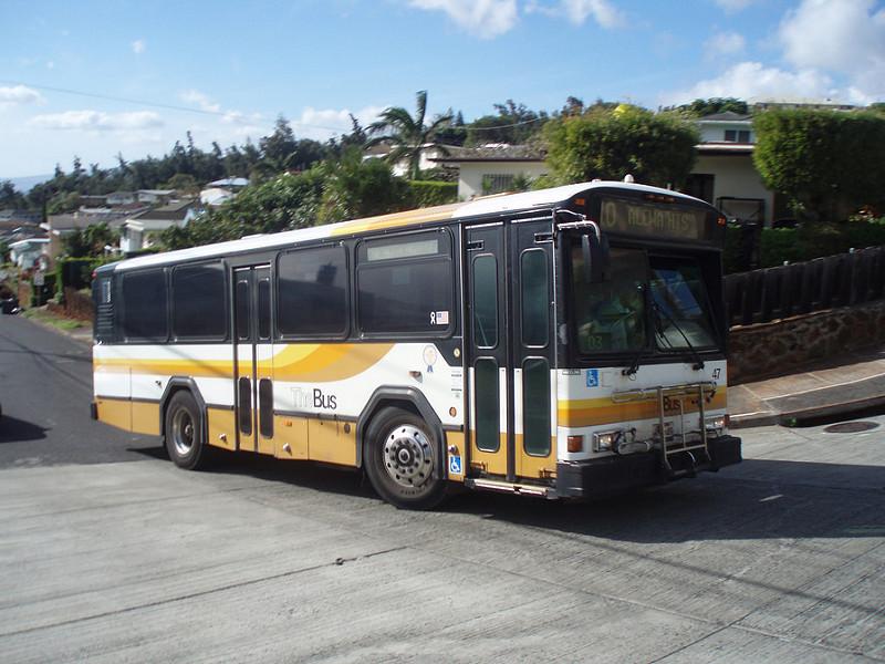 ハワイ カハラモール バス