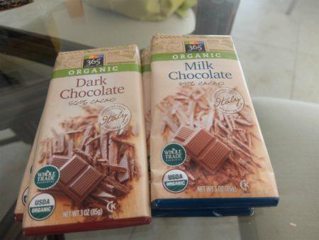 ホールフーズのダークチョコレート