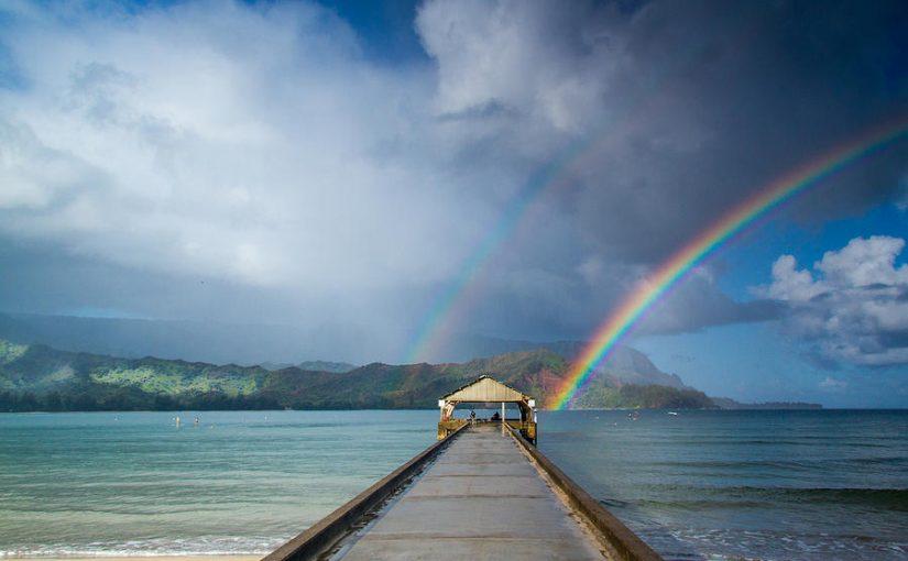 ハワイ 日本のハワイ ハナレイ湾