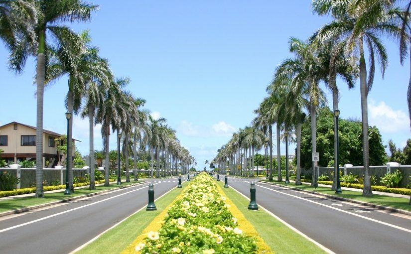 ハワイのバスルート