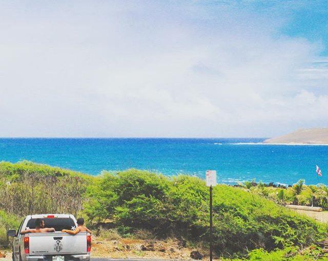 マカプウ岬のドライブ