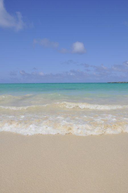 ハワイ カイルアタウン ビーチ