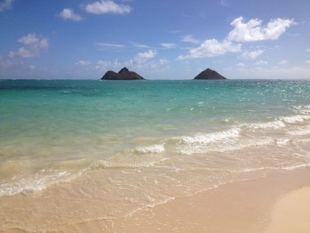 ハワイ カイルア ラニカイビーチ