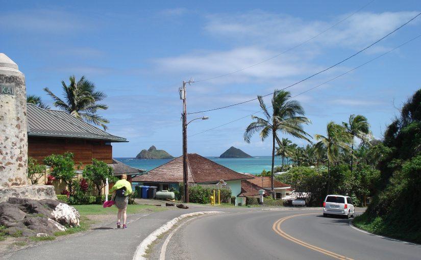 ハワイ カイルア バス