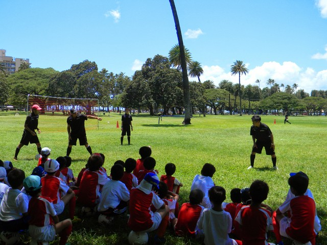 ハワイのアーセナルサッカースクール