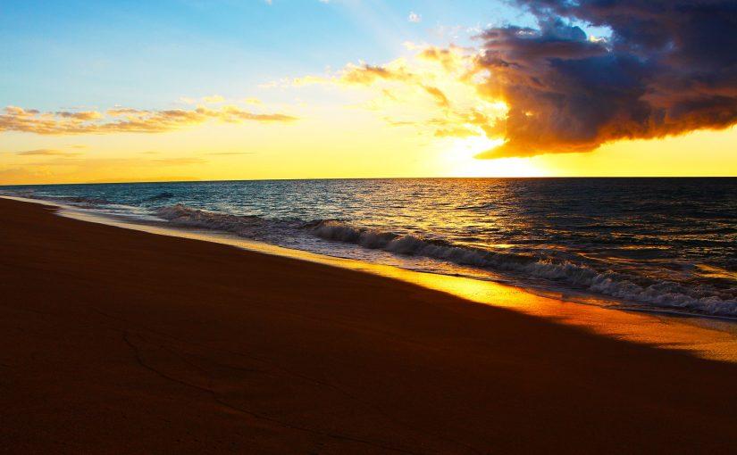ニイハウ島の景色