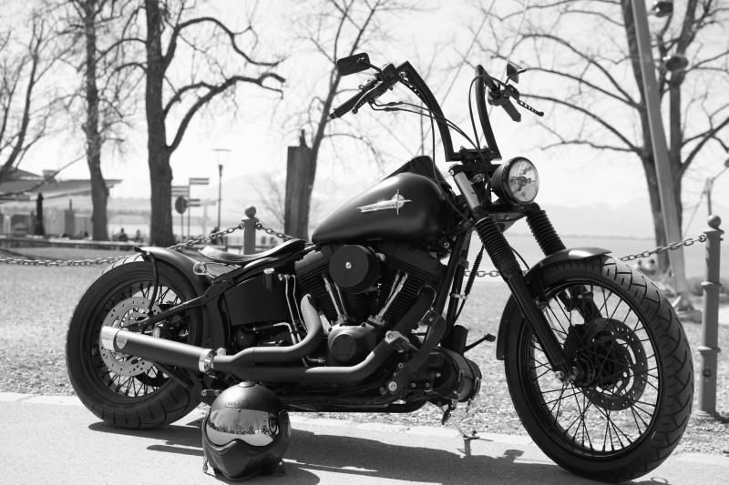 harley-harley-davidson-motorcycle-bike-black
