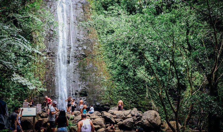 ハワイ トレッキングツアー
