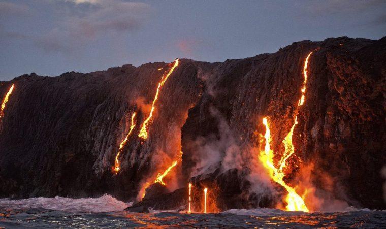 ハワイ キラウエア火山 ツアー