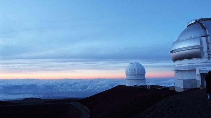 ハワイ 天文台 ツアー