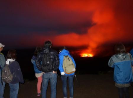 ハワイ キラウエア火山 公認ガイド ツアー