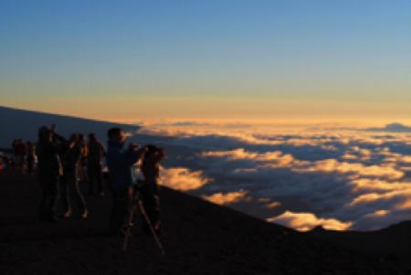 ハワイ 天文台ツアー