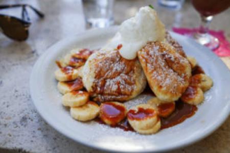 ハワイ パンケーキ クリームポット