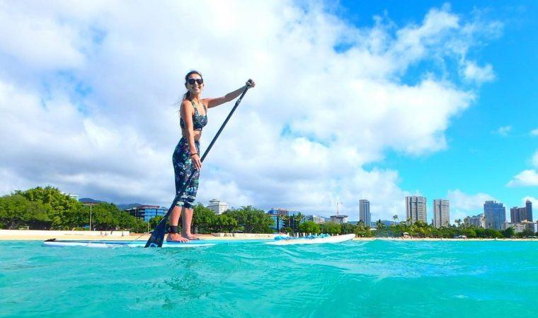 ハワイ SUP ツアー