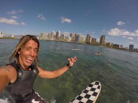ハワイ ハワイ州公認サーフィンストラクター ISLANDFIEL SURF LLC プライベートレッスン