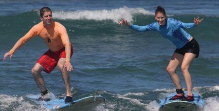 ハワイ Hans Hedeman Surf School SUPレッスンツアー