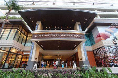 ハワイ ヨガ インターナショナルマーケットプレイス