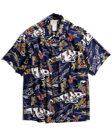 ハワイ アロハシャツ イオラニ