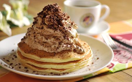 ハワイ ホノルルコーヒーカンパニー パンケーキ