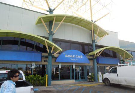 ハワイ サイミンン ニューイーグルカフェ