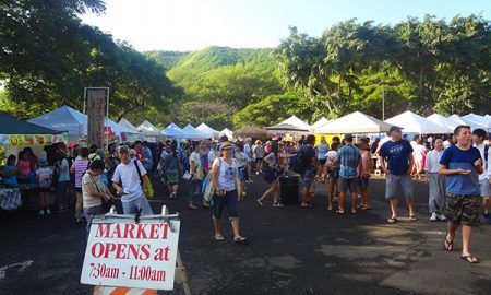 ハワイ KCCファーマーズマーケット