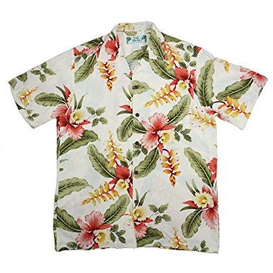 ハワイ アロハシャツ トゥーパームス