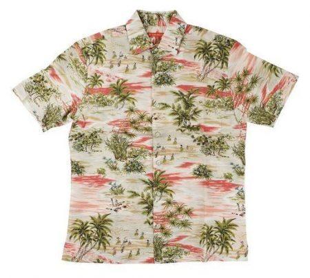 ハワイ アロハシャツ トリリチャード